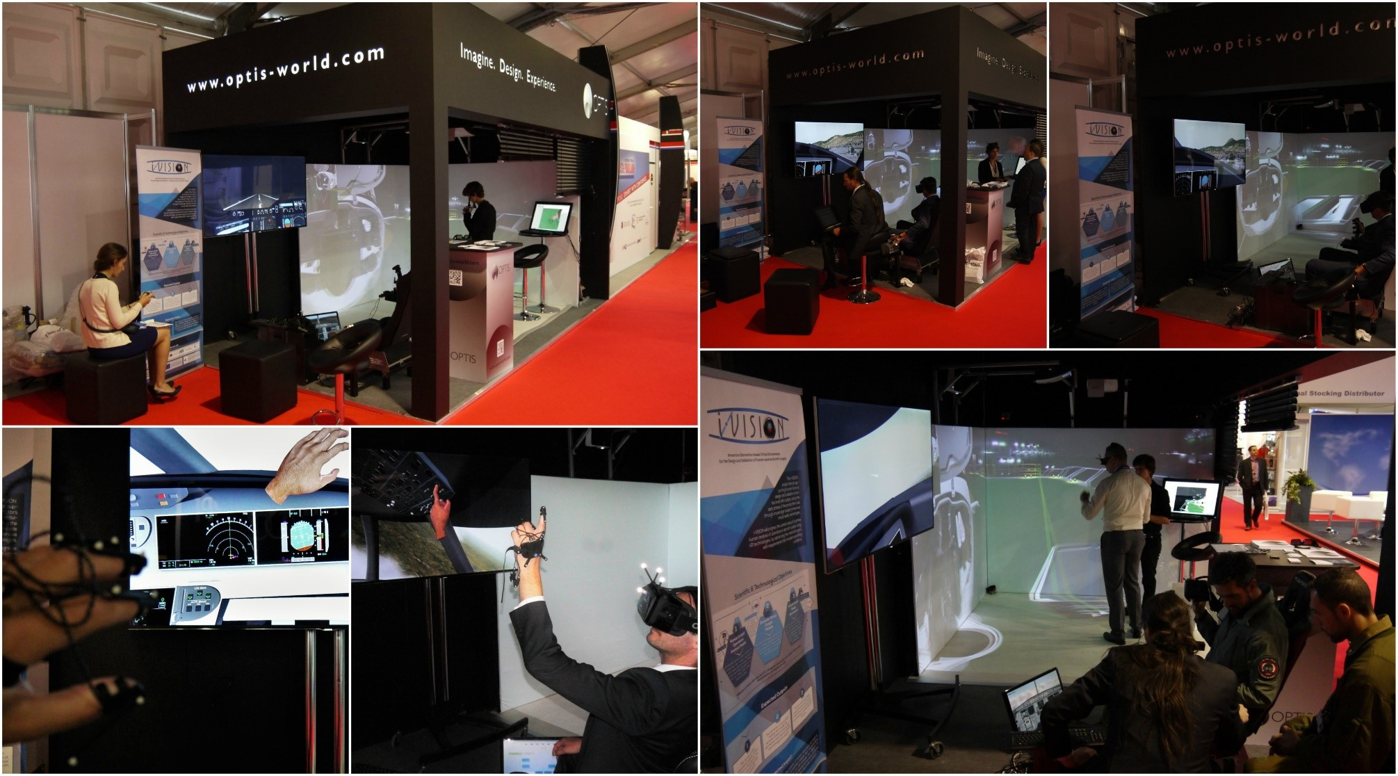 i-VISION at Farnborough International AirShow